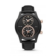 Colori - Dual Time - Black/Rose Gold