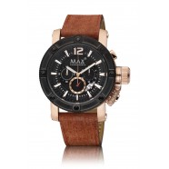 Max - Chronograph - Brown/ IPR/ Black