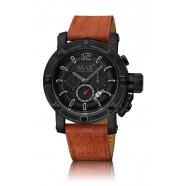 Max - Chronograph - Brown/ IPB/ Black