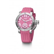 Max - XS36 - IP Silver - Pink