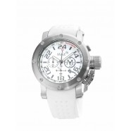 Max - Sports - IP Silver - White 42mm