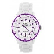 Colori - White Summer- White / Ring Purple