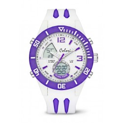 Colori - Cool Fusion - White / Purple Index