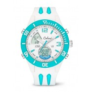 Colori - Cool Fusion - White / Turquoise Index